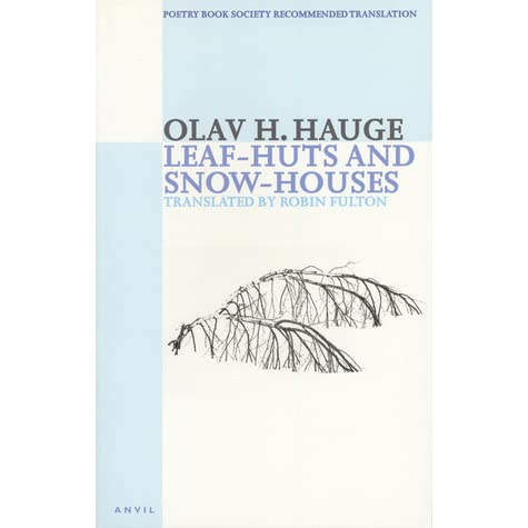 Image result for Olav H. Hauge, Leaf-Huts and Snow-Houses,