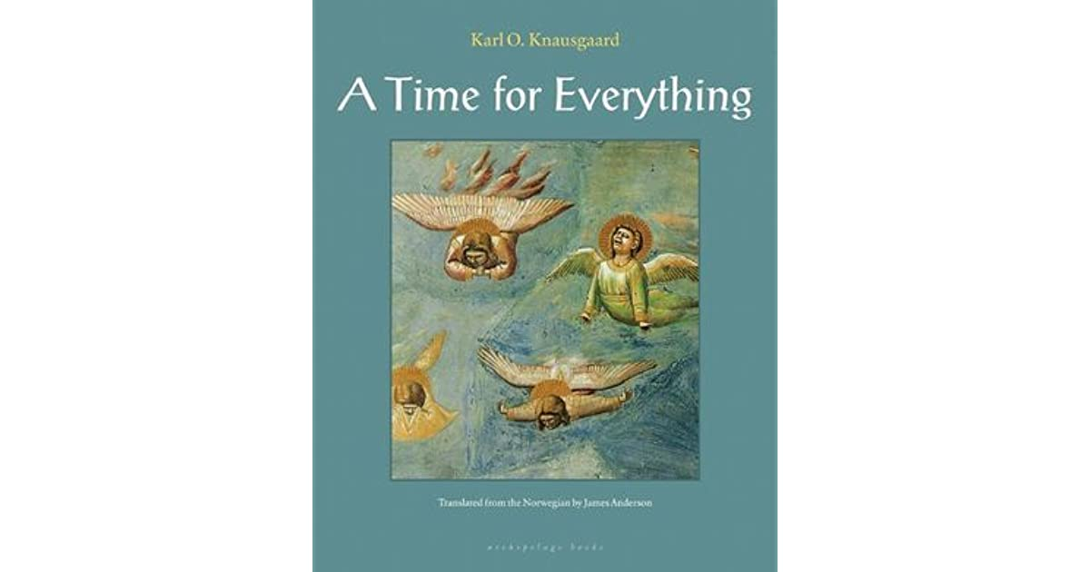 A Time for Everything by Karl Ove Knausgård