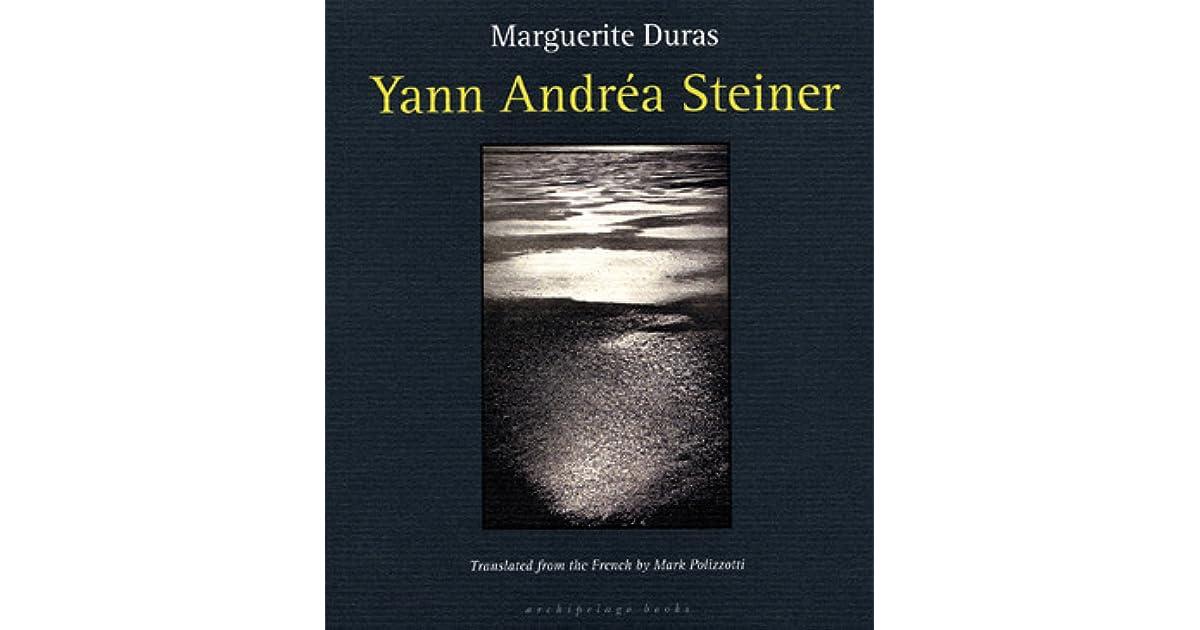 Yann andra steiner by marguerite duras fandeluxe Choice Image