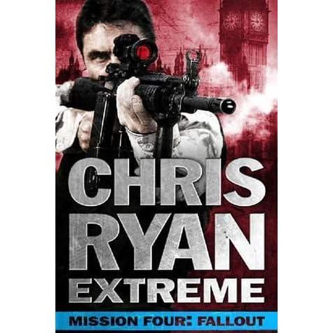 chris ryan books in order of release