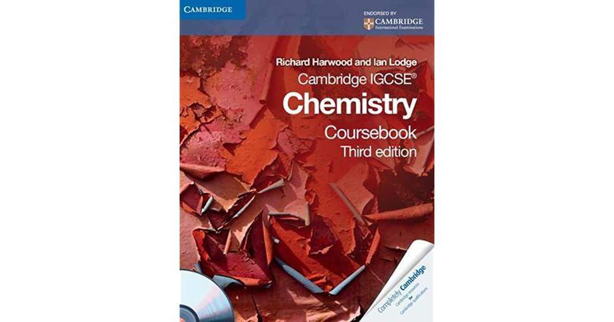 Cambridge igcse chemistry coursebook with cd rom by richard harwood fandeluxe Gallery