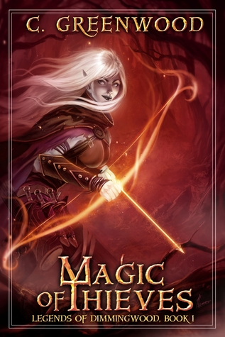 Image result for book cover magic of thieves
