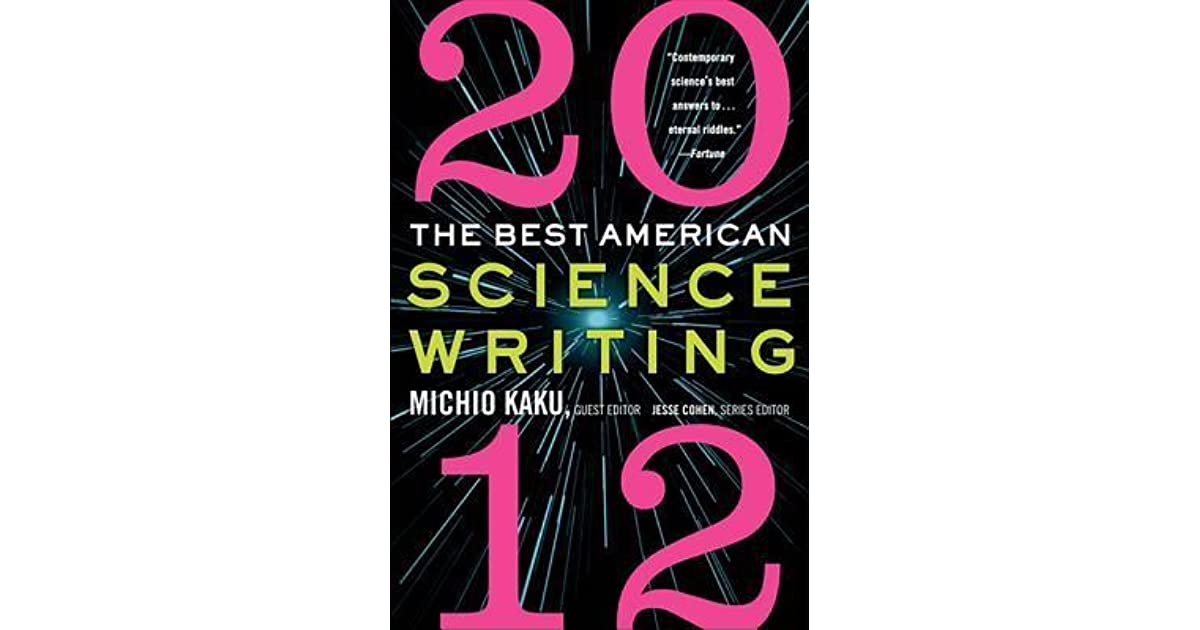 the best american science writing 2012 pdf