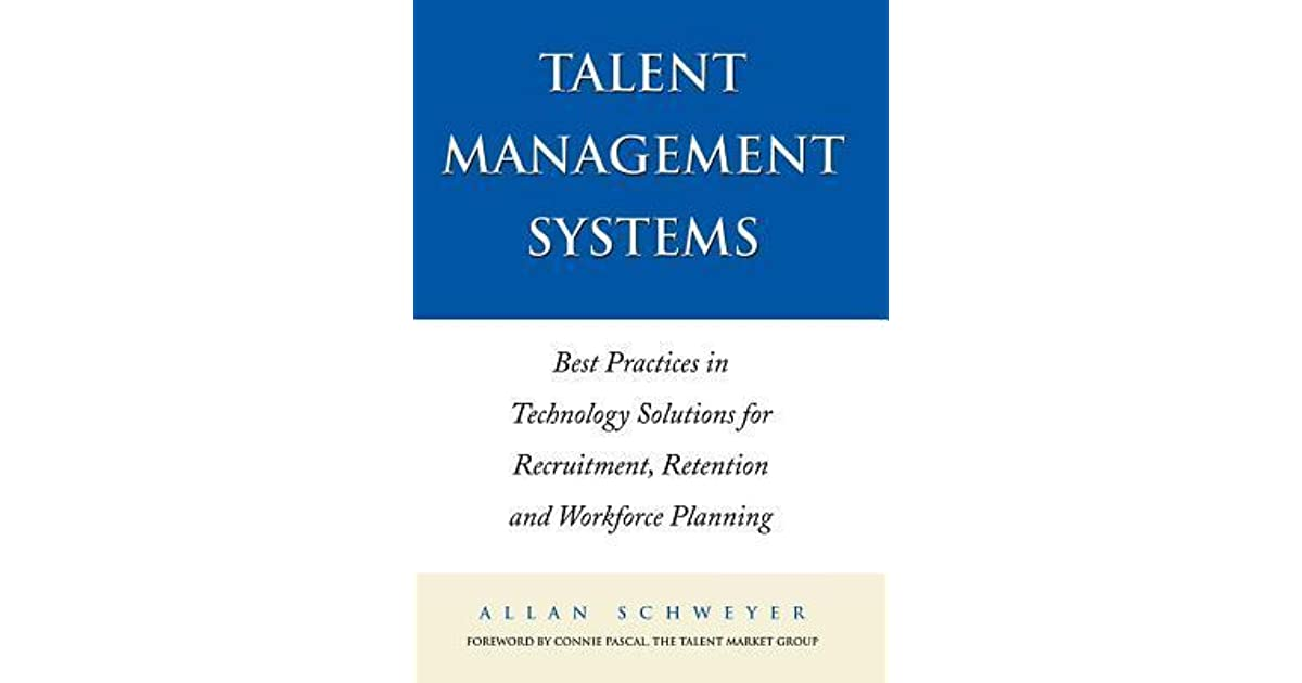 talent management systems schweyer allan