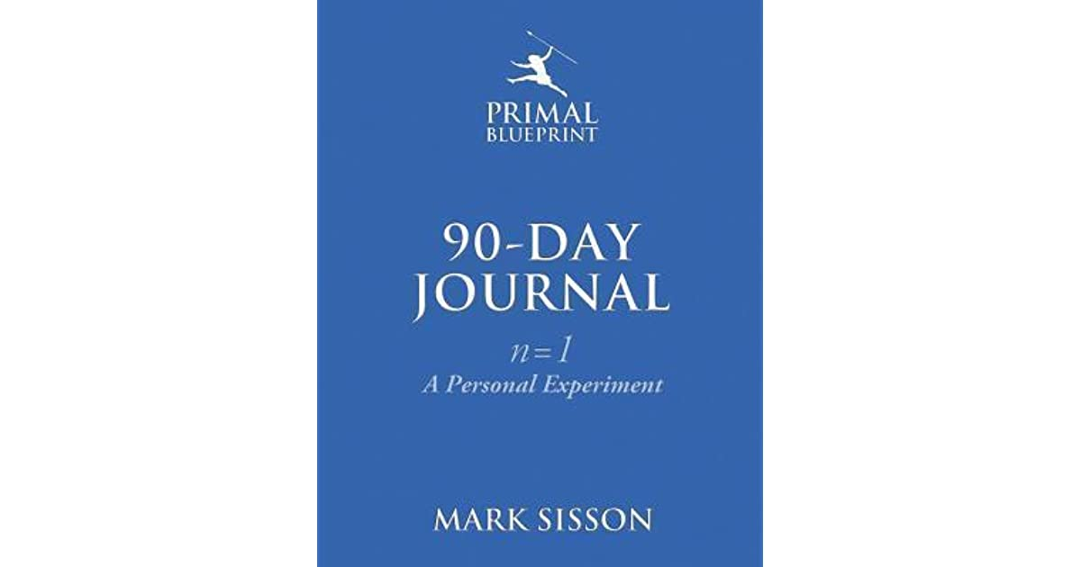 The primal blueprint 90 day journal a personal experiment by mark the primal blueprint 90 day journal a personal experiment by mark sisson malvernweather Choice Image