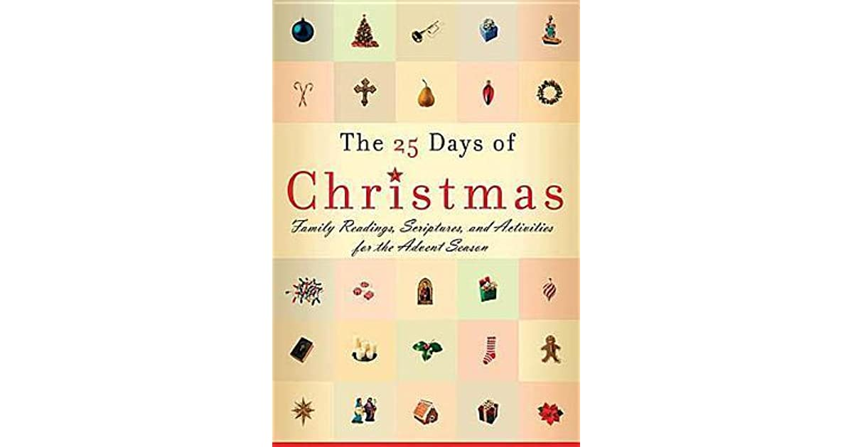 Christmas Readings.The 25 Days Of Christmas Family Readings And Scriptures For