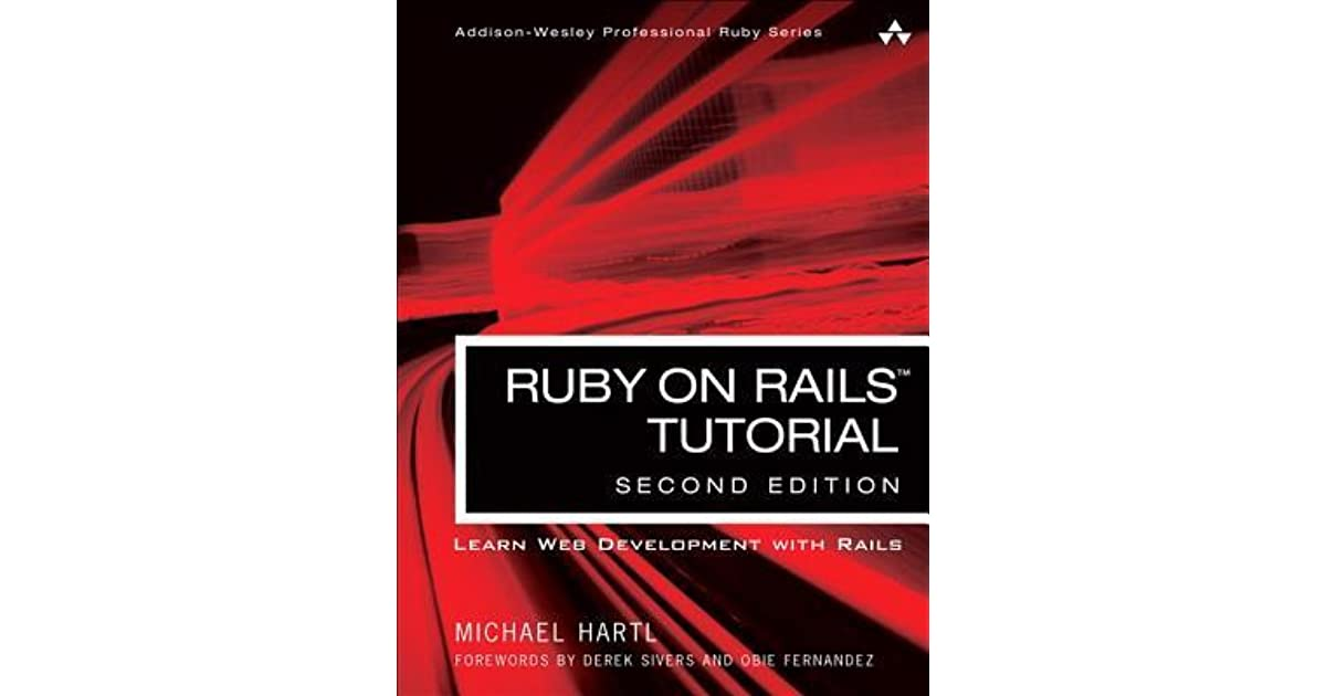 Ruby On Rails Tutorial Third Edition Pdf