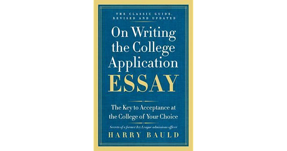 best books on writing college essays I read about 10 different books on writing essays for college applications to help prepare my son for his senior year this book was by far the best.