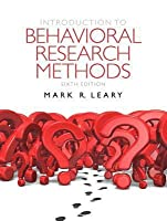 Introduction to Behavioral Research Methods [with MySearchLab & eText Access Code]