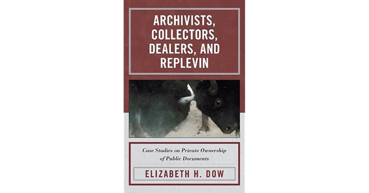 electronic records in the manuscript repository dow elizabeth h