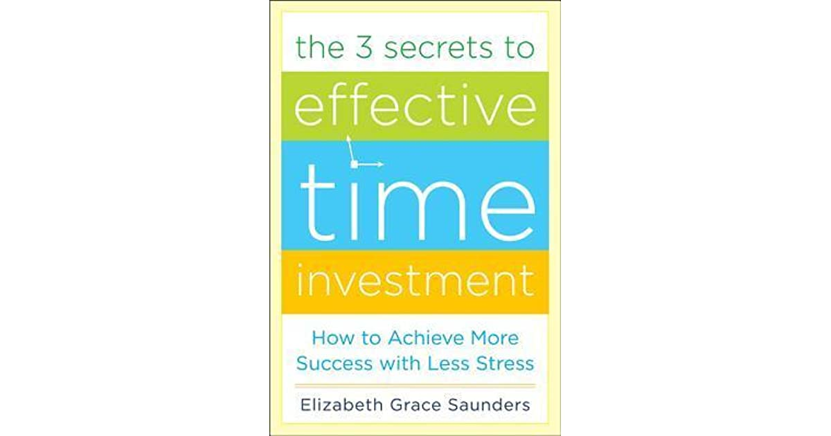 The 3 secrets to effective time investment ebook alternative investment fund managers association