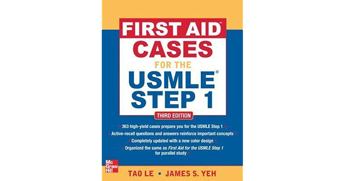 First Aid Cases for the USMLE Step 1 by Tao T  Le