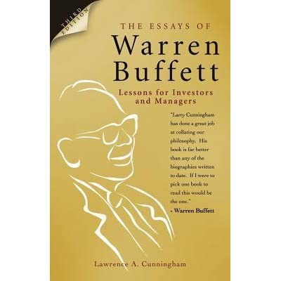 review of the essays of warren buffett