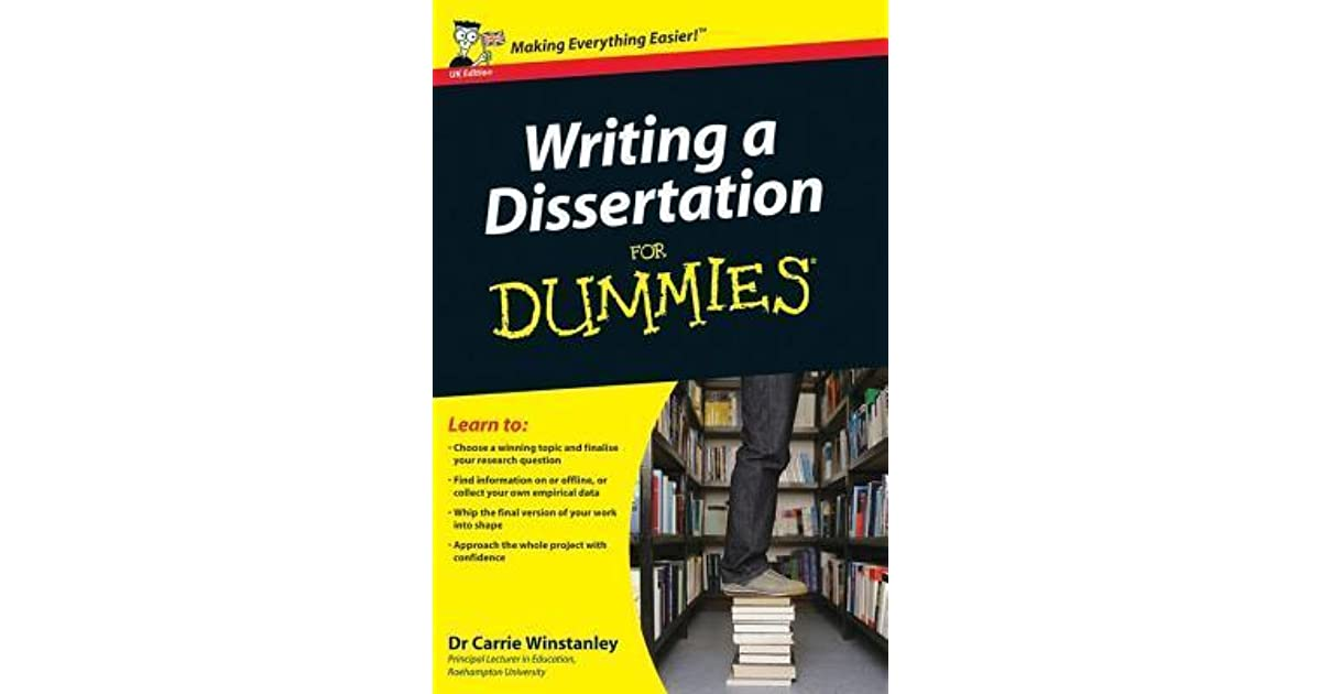Full E-book Writing a Dissertation for Dummies For Online - video Dailymotion