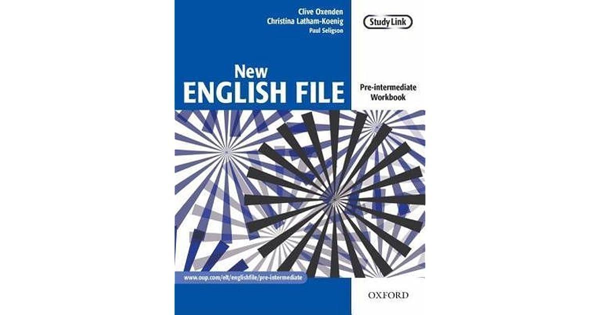 new english file pre-intermediate workbook ????????????