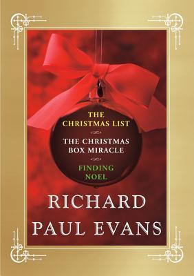 Richard Paul Evans Ebook Christmas Set: The Christmas List / The Christmas Box Miracle / Finding Noel