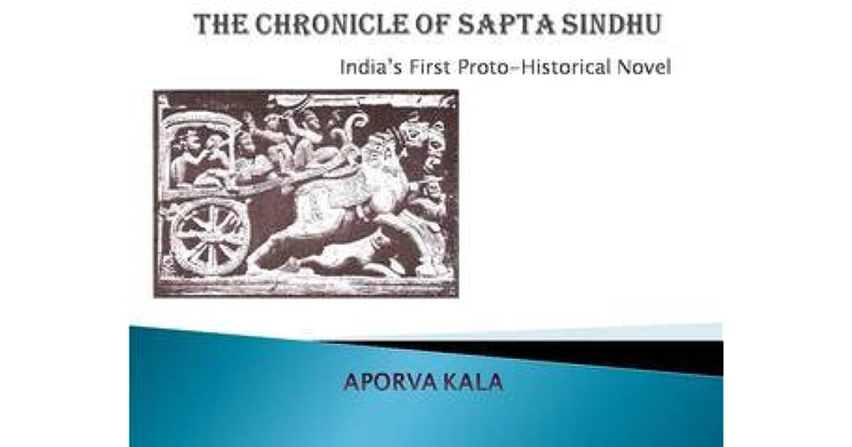 Ebook The Chronicle Of Sapta Sindhu By Aporva Kala