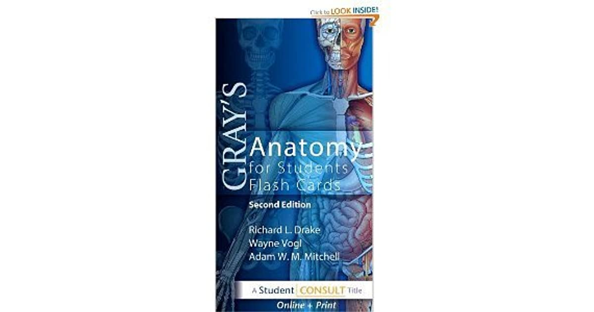 Online Only Access To Grays Anatomy For Students Flash Cards By