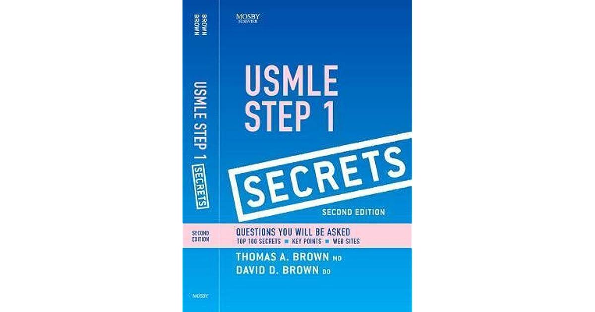 Usmle Step 1 Secrets Pdf