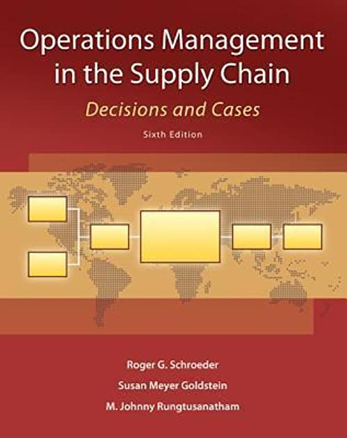 operations management in the supply chain decisions and cases by rh goodreads com Roger Schroeder Sod Farm Roger Schroeder Boyfriend for Christmas