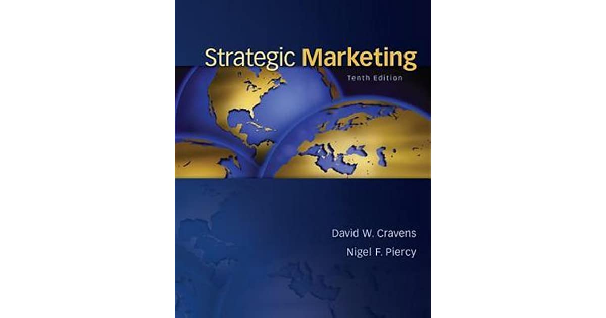 strategic marketing pdf Elements of marketing strategy a marketing strategy is composed of several interrelated elements the first and most important is market selection: choosing the markets to be served.