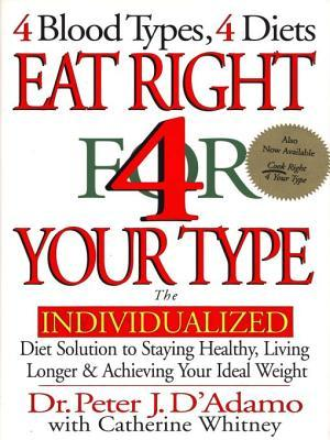 eat right for your type diet plan