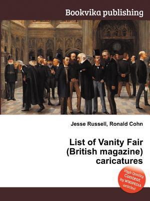 List of Vanity Fair (British Magazine) Caricatures