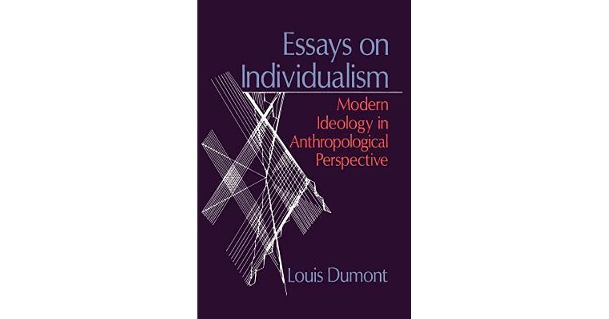 essays on individualism The importance of individuality in a society where one is expected to conform to the masses, maintaining individuality can be a difficult task.