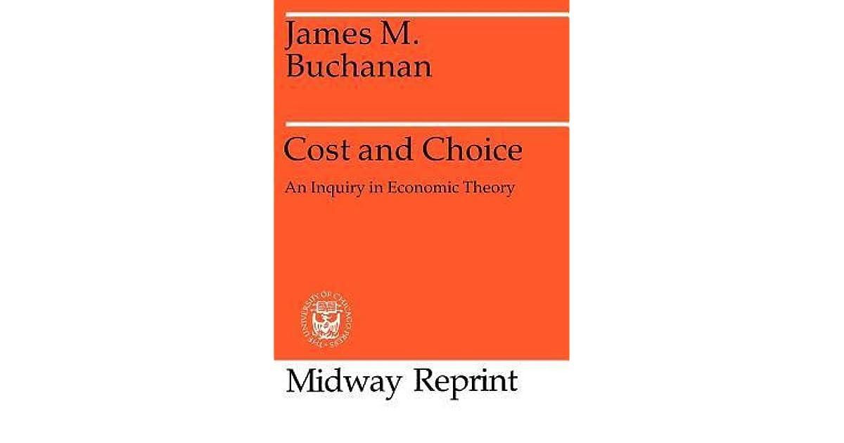 BUCHANAN COST AND CHOICE EPUB