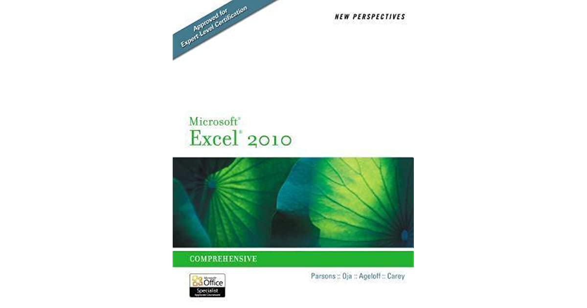 New Perspectives On Microsoft Excel 2010 Comprehensive By June