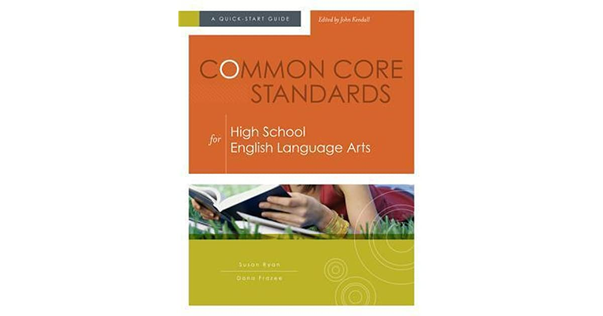 Manual Common Core Standards for Middle School English