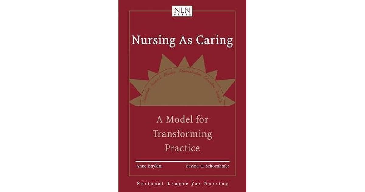 anne boykin nursing theory