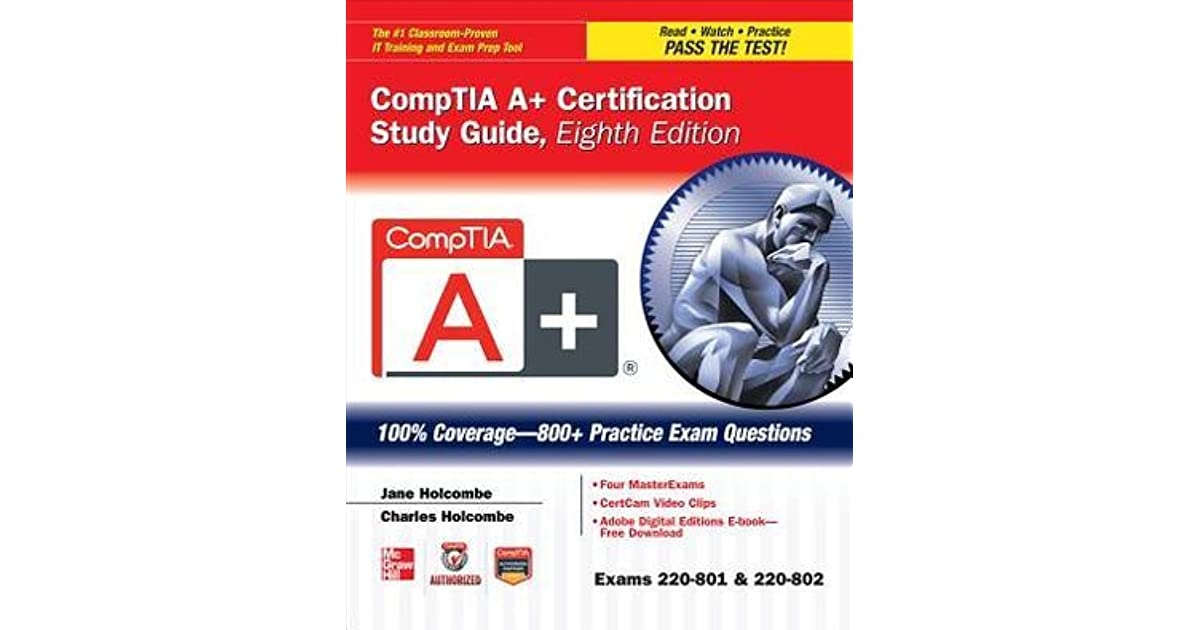 Comptia A Certification Study Guide Eighth Edition Exams 220 801