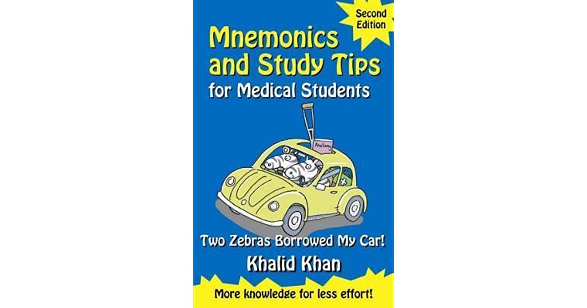 Mnemonics and Study Tips for Medical Students: Two Zebras