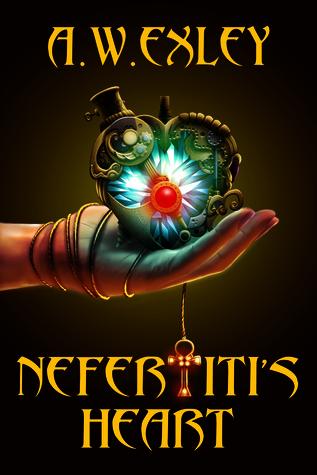Cover of the book,  Nefertiti's Heart byA.W. Exley