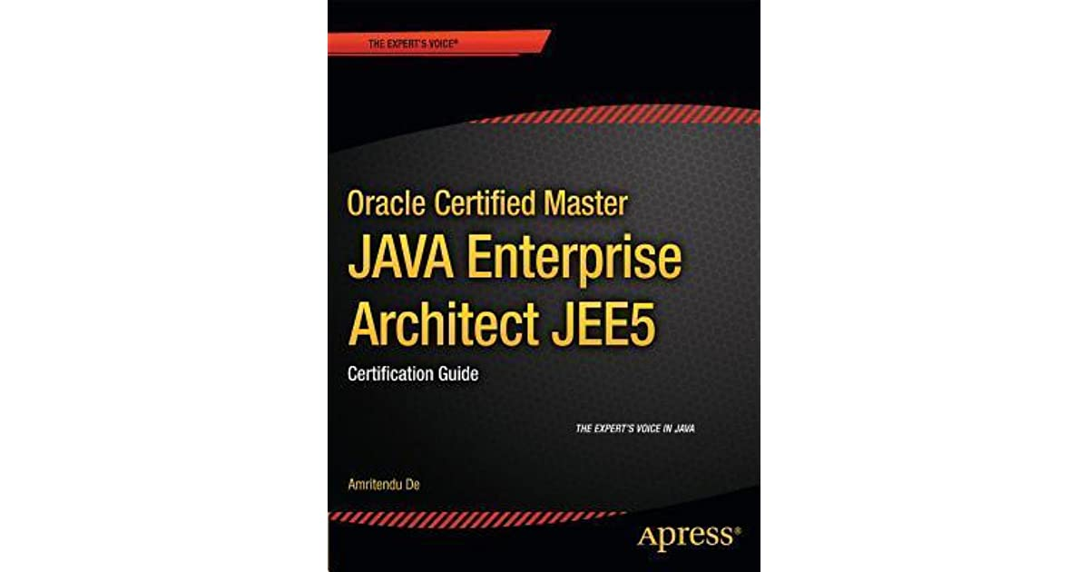 Oracle Certified Master Java Enterprise Architect Jee 5