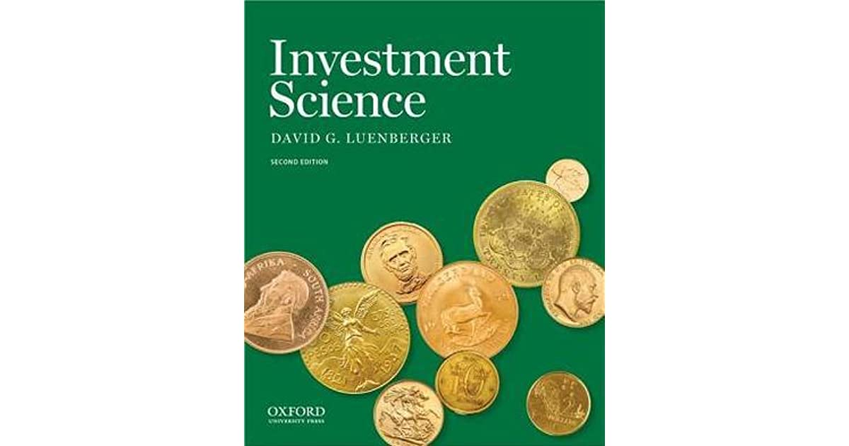 Investment science luenberger kindle tiaa cref investment fees on annuities