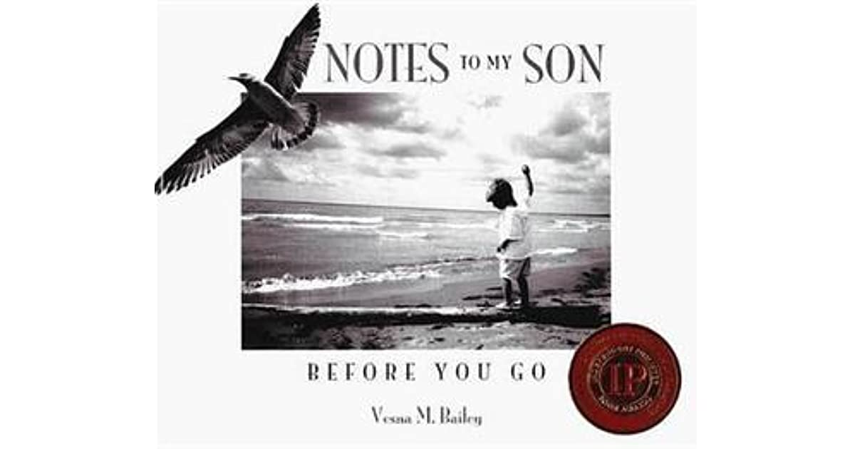 Notes to My Son Before You Go by Vesna M  Bailey