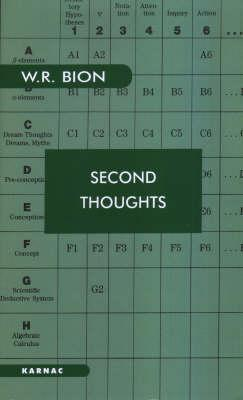 Second Thoughts  Selected Papers on Psychoanalysis (1984, Karnac Books)