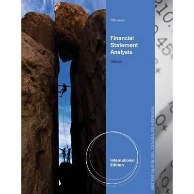 Financial Statement Analysis Books Pdf