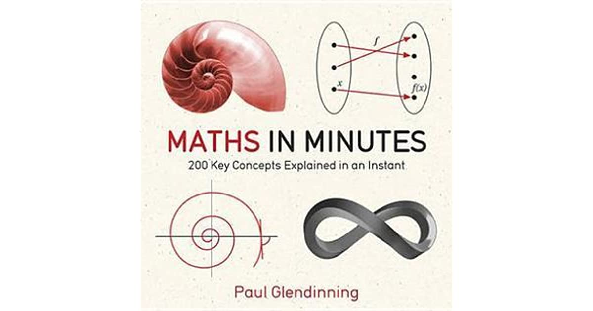 Maths in Minutes: 200 Key Concepts Explained in an Instant by Paul ...