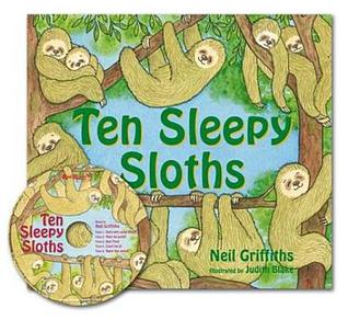 Ten Sleepy Sloths: Special Limited Edition Includes Audio CD