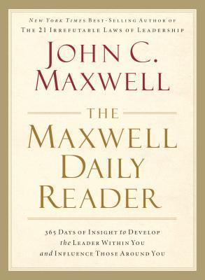 The Maxwell Daily Reader  365 D - John Maxwell
