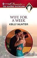 Wife For a Week (Bennett Family, #1)