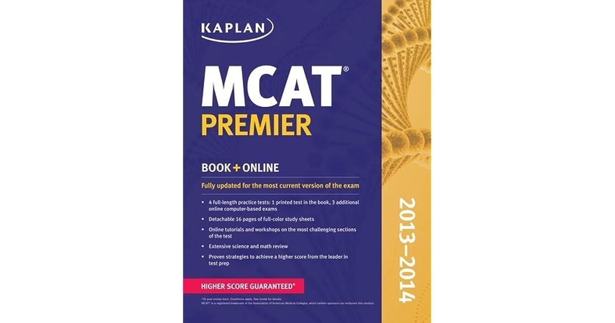 Kaplan MCAT Premier 2013-2014 by Kaplan Inc