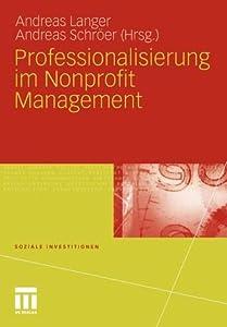 Professionalisierung Im Nonprofit Management