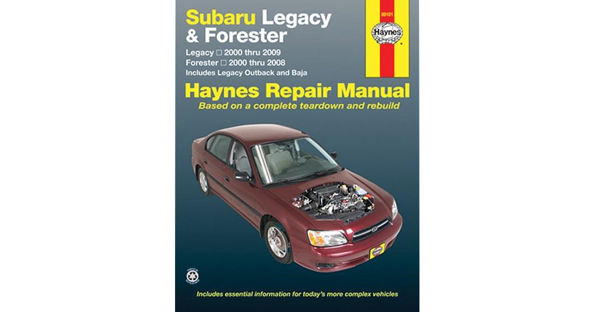 2000 Subaru Parts
