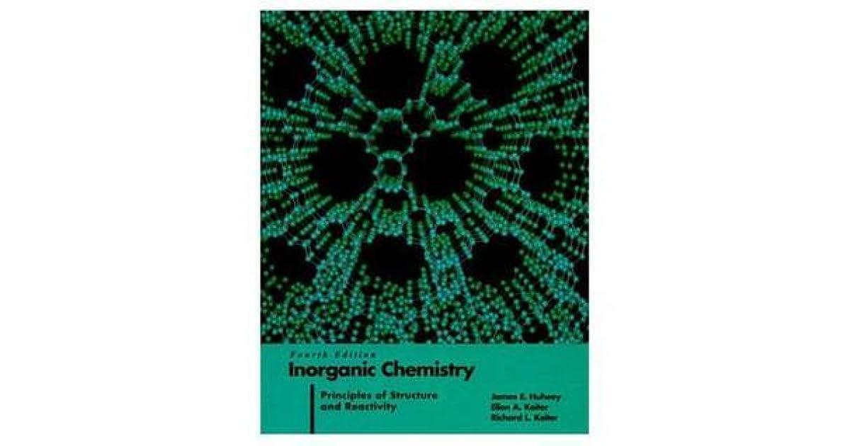 James huheey inorganic chemistry principles structure abebooks.