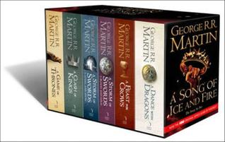 A Song of Ice and Fire, 6 volumes: A Game of Thrones/A Clash of Kings/A Storm of Swords; Steel and Snow/A Storm of Swords: Blood and Gold/A Feast for Crows/A Dance with Dragons