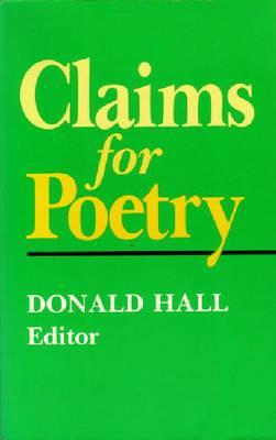 Claims for Poetry